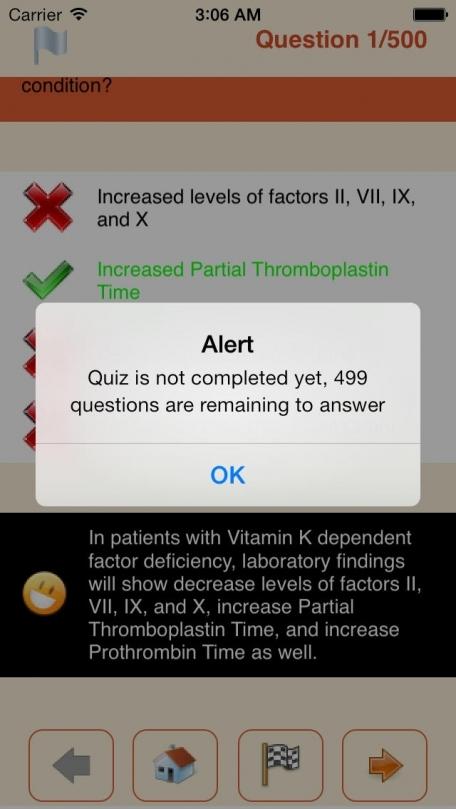 Family Medicine 500 Questions Simulation App