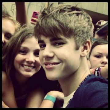 Fans of Justin Bieber