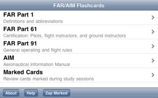 FAR/AIM Flashcards