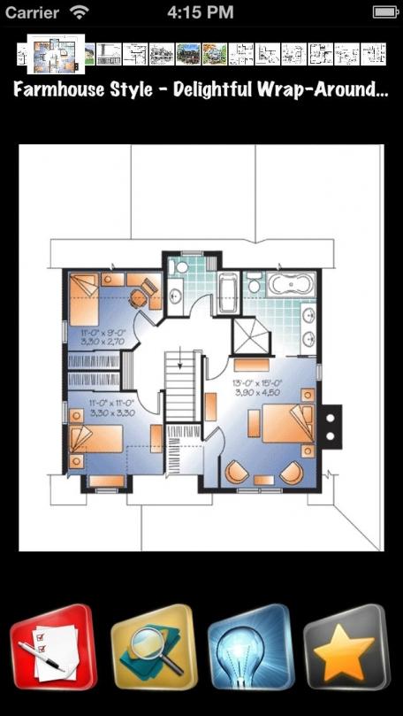 Farmhouse Style Family House Plans Entertainment App Review Ios