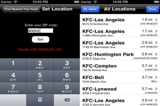 Fast Food Restaurants USA & CA - Find Nearest