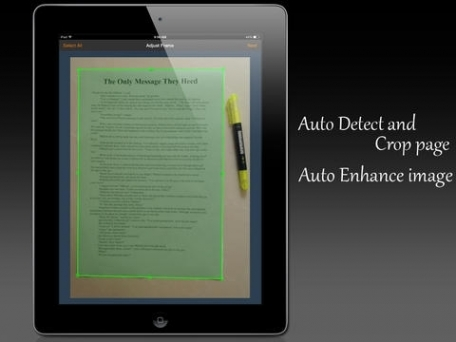 Fast Scanner Pro : Quickly scan images + books + receipts into PDF document file