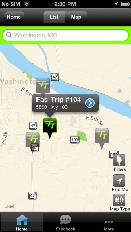 Fas-Trip Store Finder