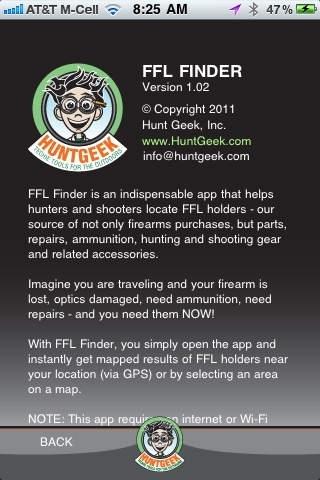 FFL Finder - Federal Firearms Licensee Finder