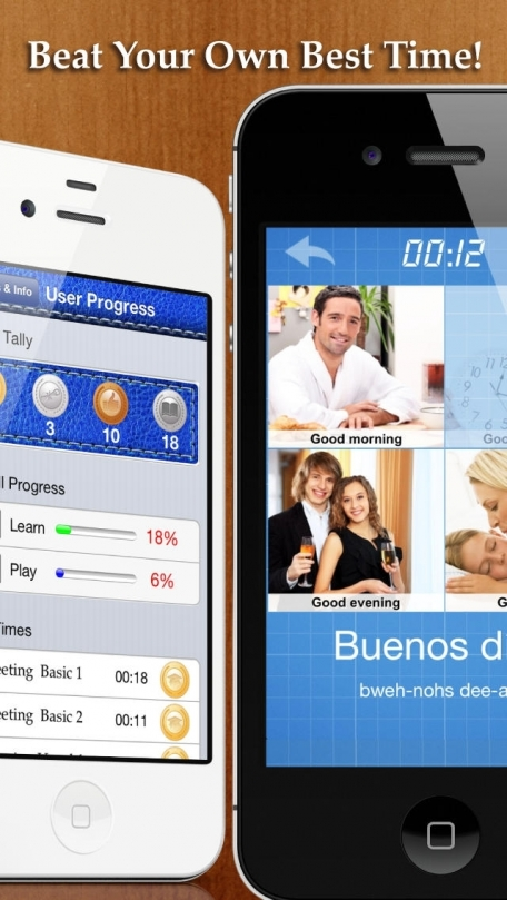 Learn&Play Spanish ~easier & fun! This quick, powerful gaming method with attractive pictures is better than flashcards