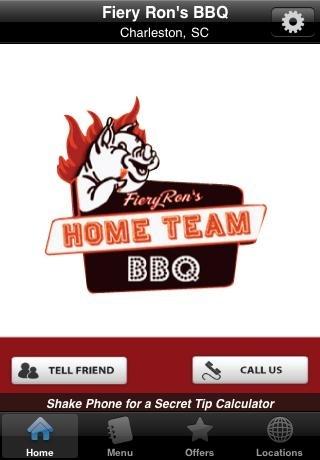 Fiery Ron's Home Team BBQ: Restaurants in Charleston and Sullivans Island, SC