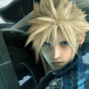 FINAL FANTASY VII ADVENT CHILDREN COMPLETE Larger-than-Life Gallery