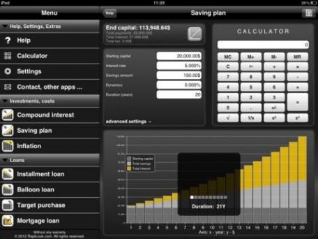 Finance Calculator Pro