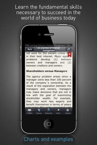 Financial Management - MBA Learning Solutions for iPhone