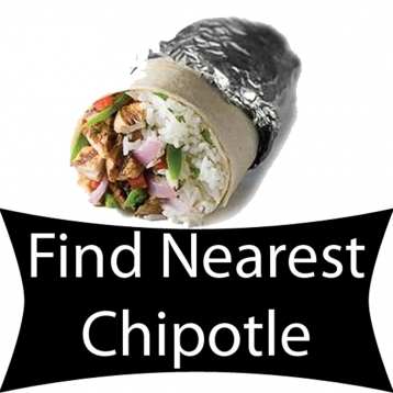 Find Nearest Chipotle