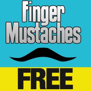 Finger Mustaches