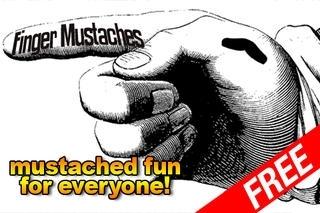 Finger Mustaches