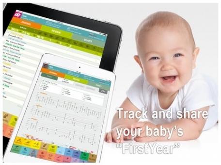 FirstYear - Baby tracker, breastfeeding, nursing, sleep and diaper timer, growth and health log