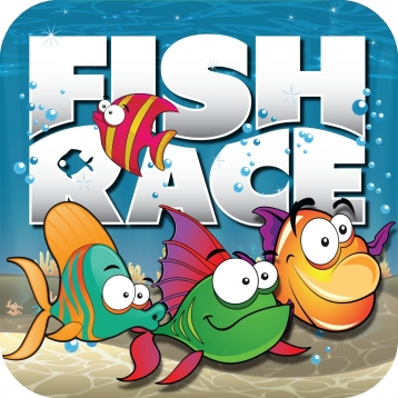 Fish Race - Finding The Big Fish Tapping Them To Free Game