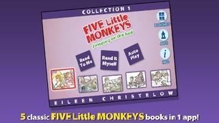 Five Little Monkeys Collection #1