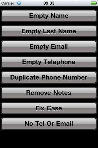 Fix Contacts - The app to clean your address book