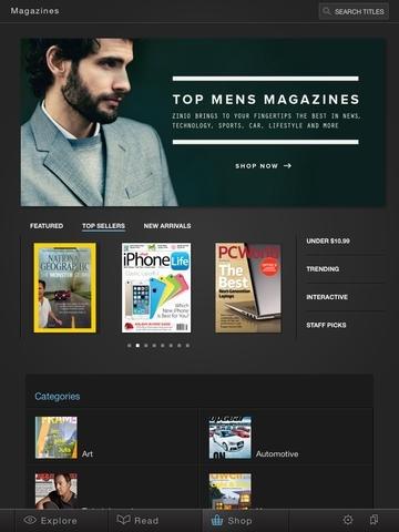 Zinio – 5,000+ Digital Magazines
