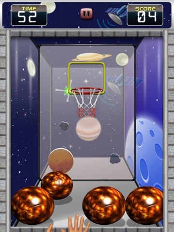Flick Basketball Deluxe - by Sports On Apps