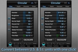 Flo Hydraulic Calculator
