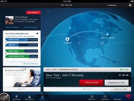 Fly Delta for iPad
