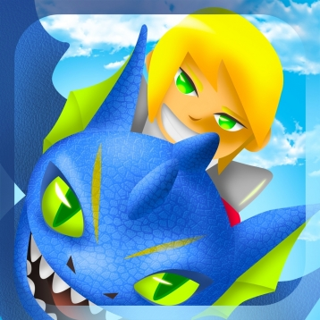 Flying Precious Dragon vs Monster Dinosaur Clan Sky Attack Story - Save the Precious Egg from Mega Death - Free iPhone/iPad Edition Game