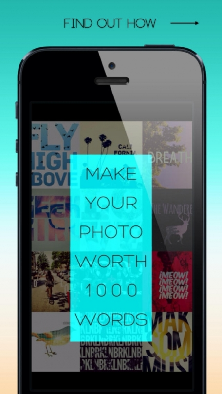 Font Candy - Typography Pic Editor, Mask your Pics with Custom Words, Add Beautiful Fonts, Creative Captions and Blender Cool Symbols + Emojis!
