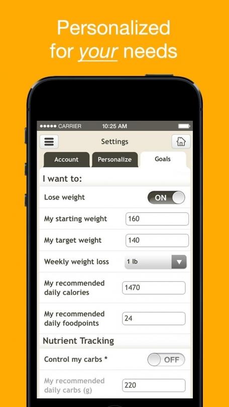 fooducate healthy weight loss diet tracker food scanner health