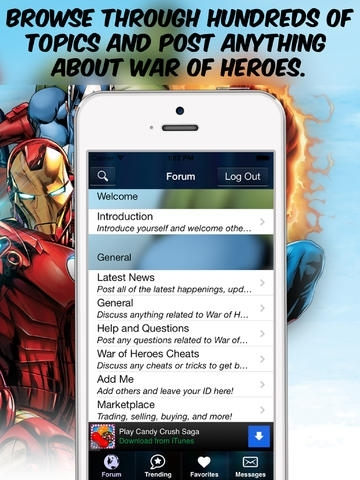 Forum for Marvel War of Heroes - Cheats, Wiki, Marketplace & More