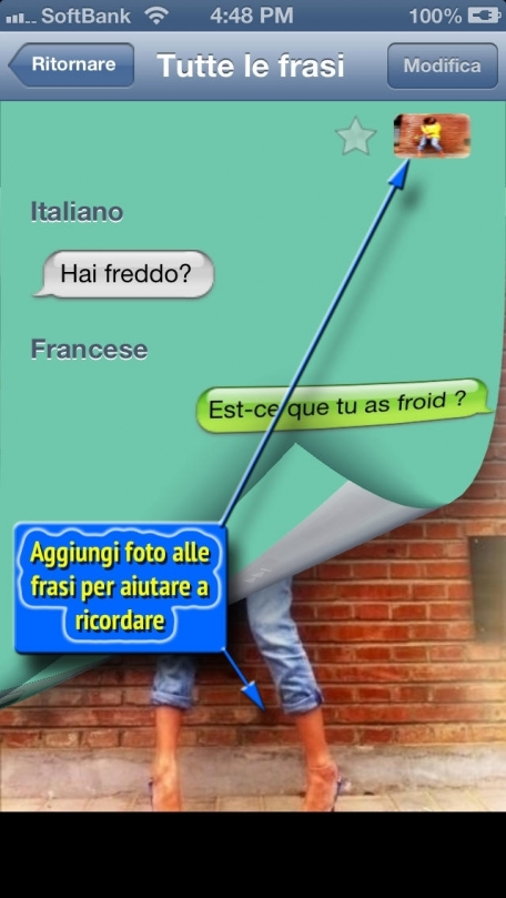 Francese - Talking Italian to French Phrase Book