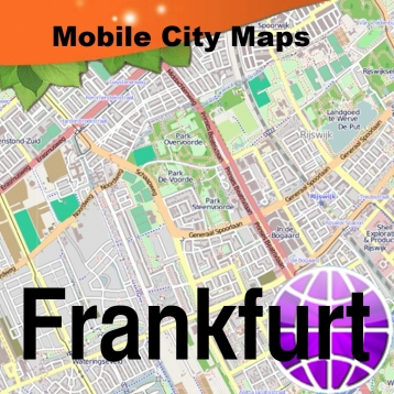 Frankfurt Street Map Travel App Review iOS 299 for May 2018