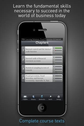 Fraud Prevention & Internal Controls - MBA Learning Solutions for iPhone