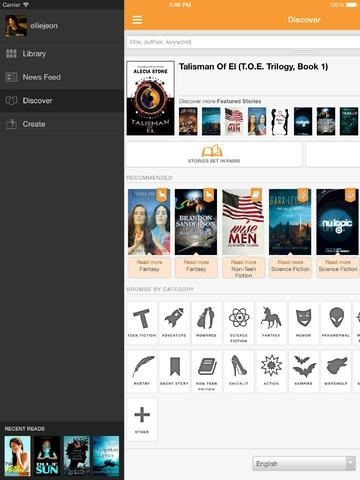 Free Books - Wattpad eBook Reader - Read Fiction, Romance, Fanfiction stories by top writers