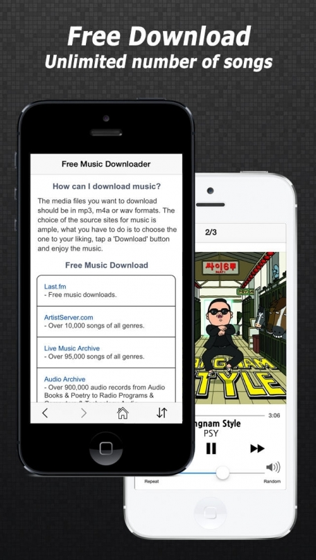 Free Music Download - Mp3 Downloader