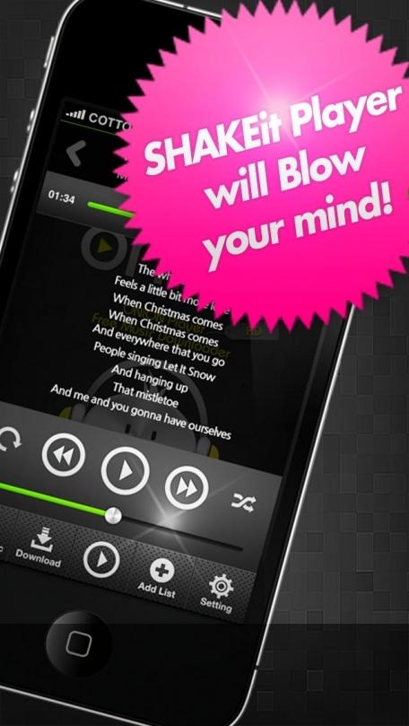 Free Music Downloader SHAKEit Player Pro