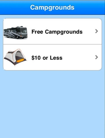 Free RV and Campgrounds