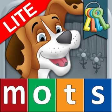 French First Words with Phonics Lite: Kids Preschool Spelling & Learning Game