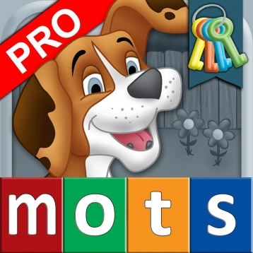 French First Words with Phonics Pro: Kids Deluxe-Spelling & Learning Game