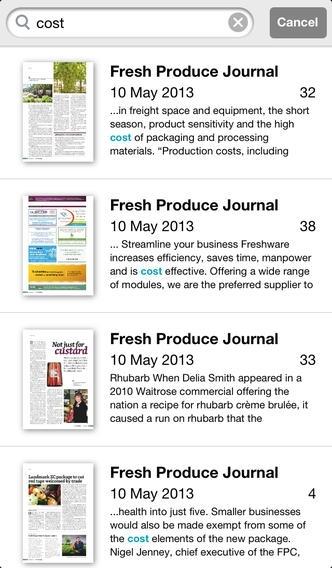 Fresh Produce Journal