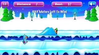 Frozen Snowman Run