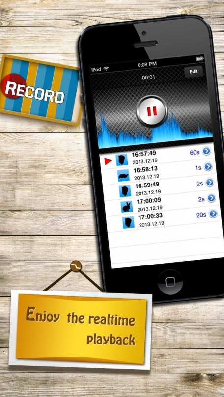 Funny Voice Changer, Recorder, Generator plus Player