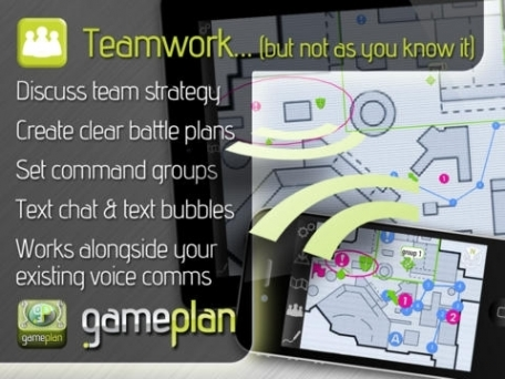 GamePlan: strategy & tactics for team and clan gamers