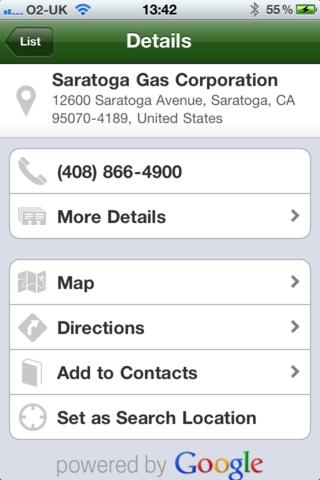 Gas Finder - Find your nearest Gas Stations