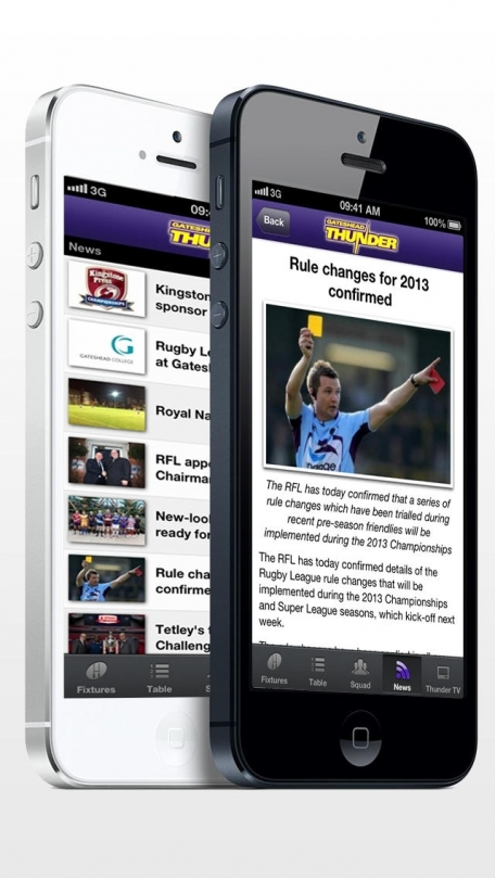 Gateshead Thunder - Rugby League