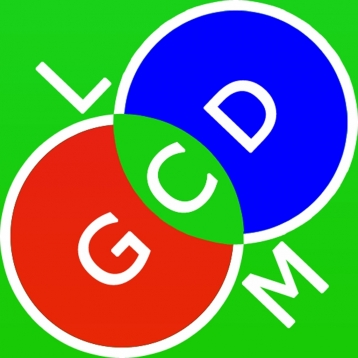 GCD and LCM calculator - calculate the Greatest Common Divisor and the Least Common Multiple of 2, 3 and 4 numbers