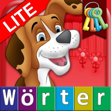 German First Words with Phonics Lite: Kids Preschool Spelling & Learning Game