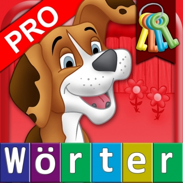 German First Words with Phonics Pro: Kids Deluxe-Spelling & Learning Game
