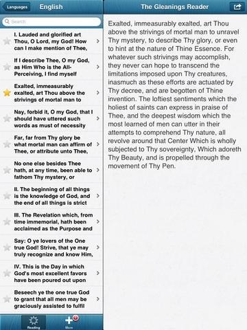 Gleanings from the Writings of Baha'u'llah: Baha'i Reading Plan