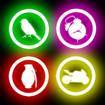 Glow Sound Buttons FREE