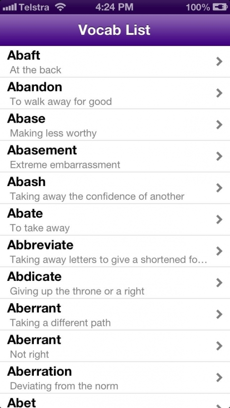 GMAT Verbal Review Verbal for GMAT Words