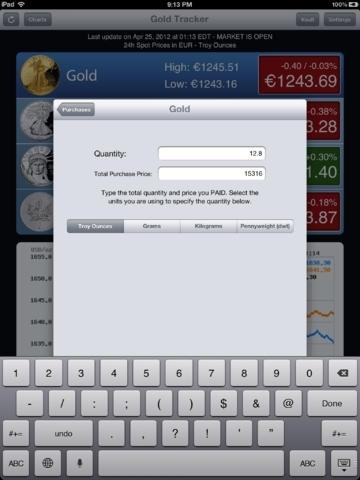 Gold Tracker